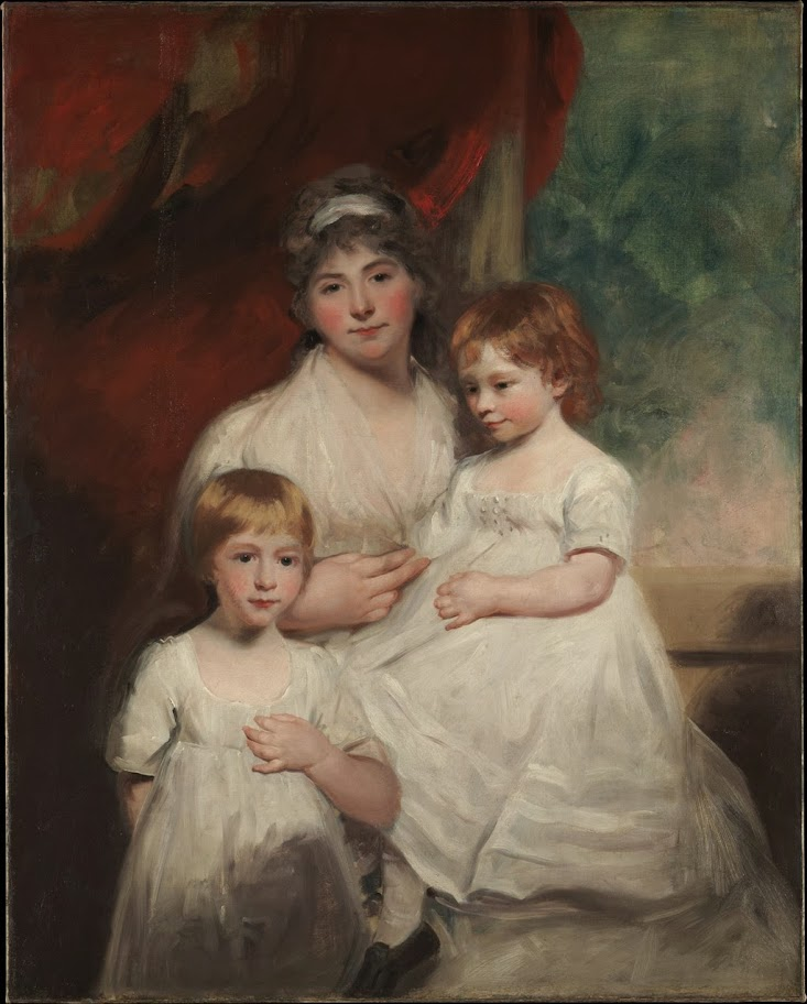 John Hoppner - Mrs John Garden and Her Children