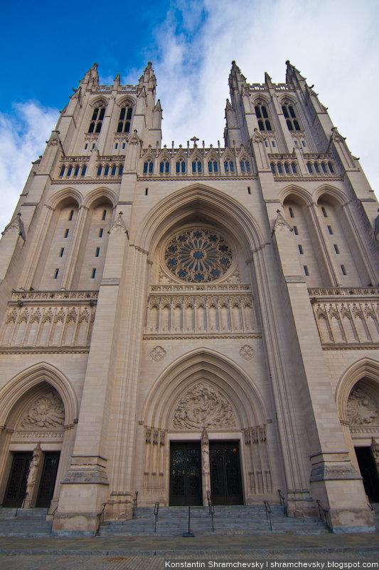 USA District Of Columbia Washington National Cathedral США Ди Си Округ Коламбия Колумбия Национальный Кафедральный Собор