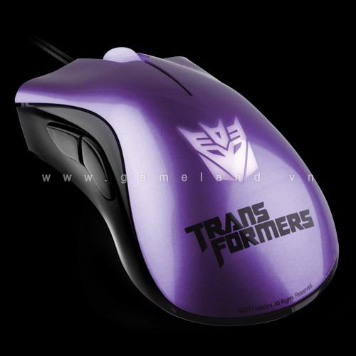 Razer ra mắt bộ sản phẩm ăn theo Transformers 3 5