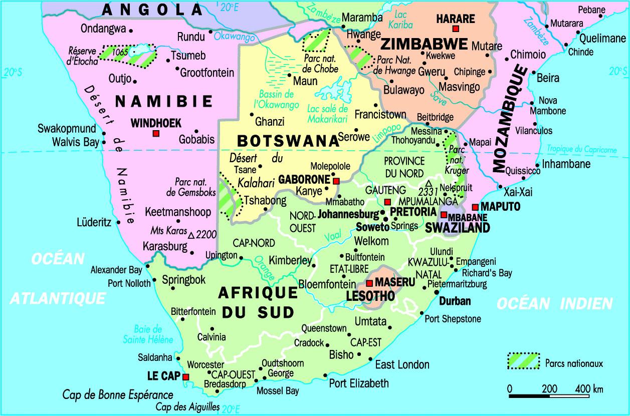 Bien-aimé Le cap carte afrique du sud » Vacances - Arts- Guides Voyages EW79