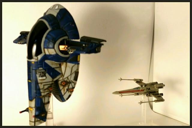 Firesprays y X-Wing