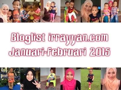 Bloglist irrayyan.com Januari-Februari 2015