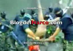 blog del narco presenta el siguiente video de principio se indica que