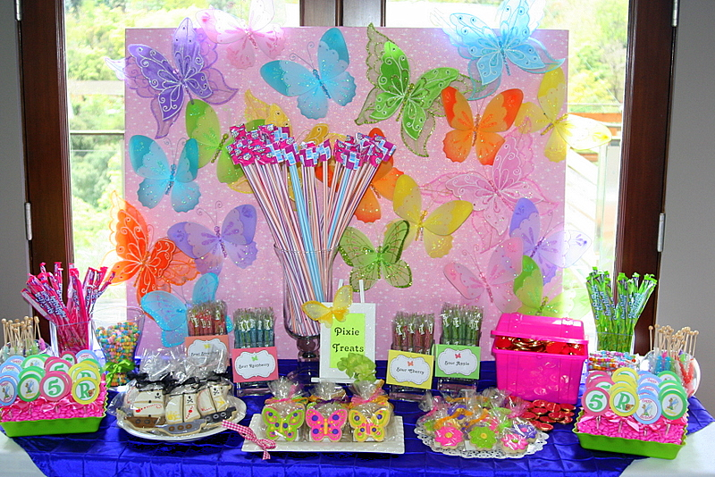 Party Wishes Hosted A Tinkerbell And Captain Hook Party For A Sweet 5