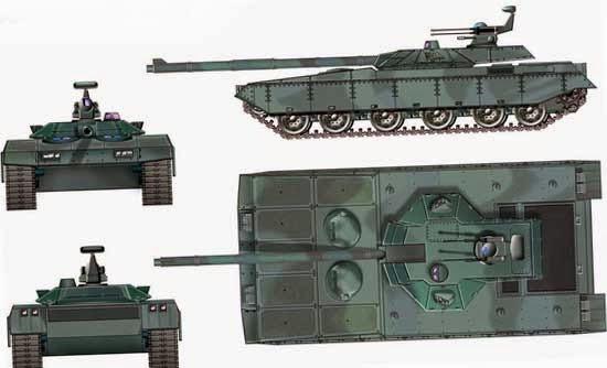 Концепция нового китайского танка