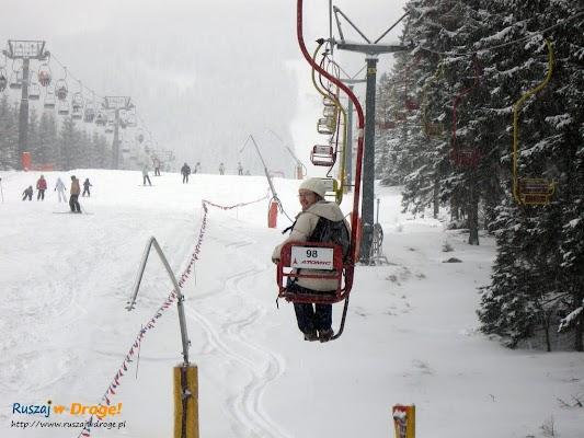 Wjazd na Śnieżkę