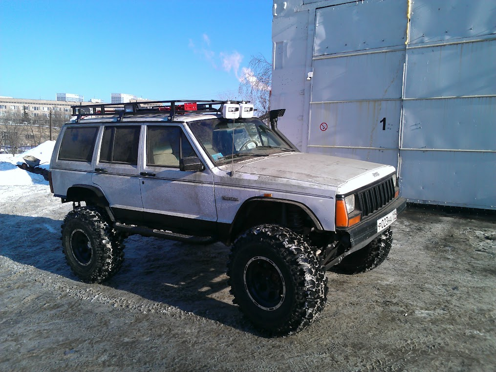 JK Rubicon axles in XJ - Pirate4x4 Com : 4x4 and Off-Road Forum