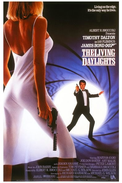 Poster Of The Living Daylights (1987) Full Movie Hindi Dubbed Free Download Watch Online At Alldownloads4u.Com