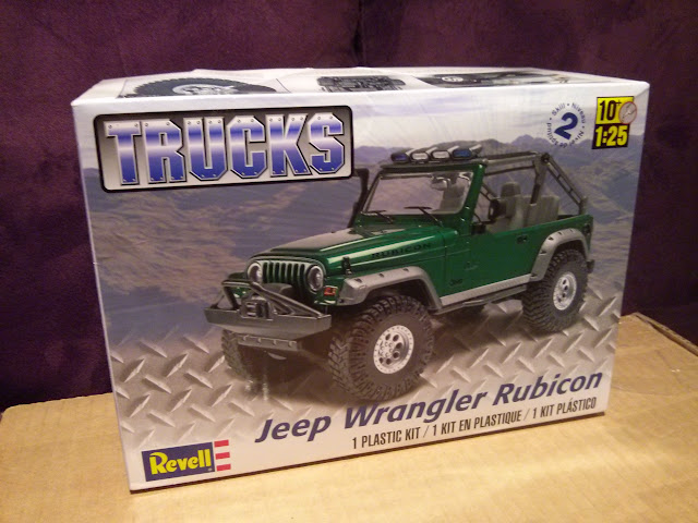 Revell Jeep Rubicon 2003 2015-01-19