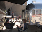 good day to chill by the airstream
