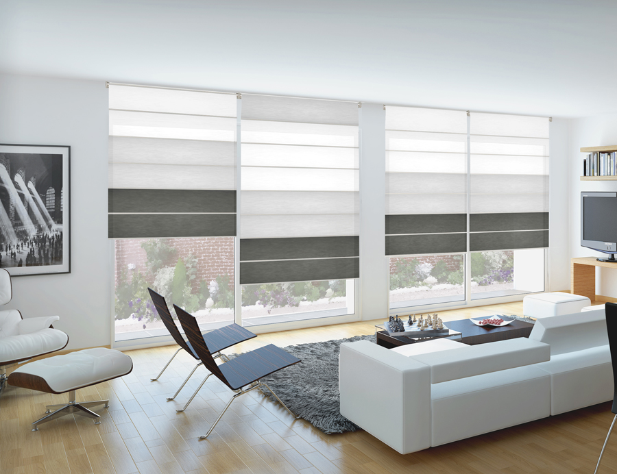 Persianas palomo plegables for Cortinas y estores modernos
