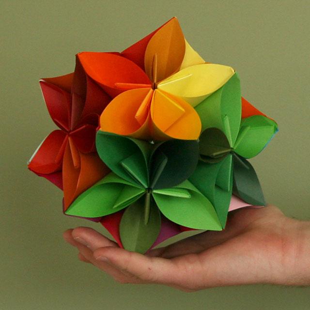Origami Kalami Star (Tine Pape) | EZ Origami | 640x640