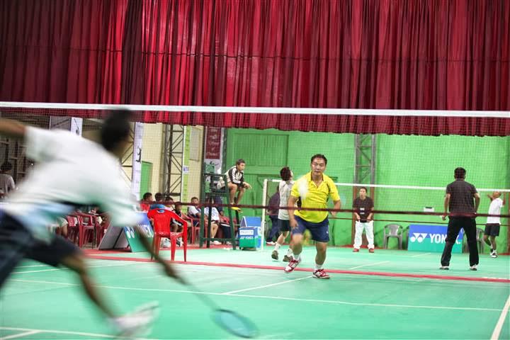 XIth Hill District badminton championship 2013 kipanta