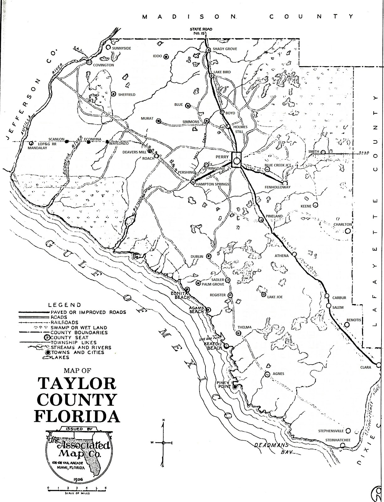 Taylor County & Perry, Florida History