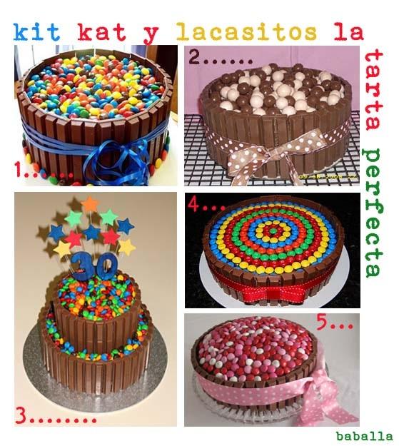ideas para decorar tartas