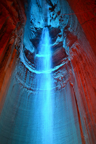 Водопад Раби, Теннесси (Ruby Falls, TN)