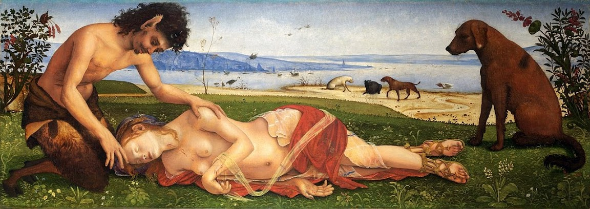 Piero di Cosimo - Death of Procris