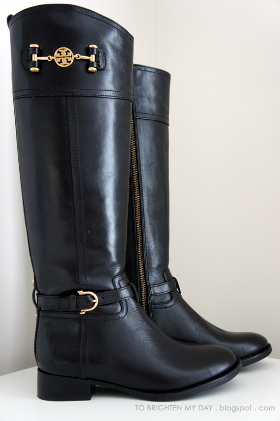 f7a5d5504e43 Riding Boots Part II  Tory Burch Nadine - to brighten my day