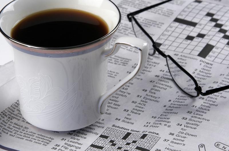 Kaffe, koffein og krydsord