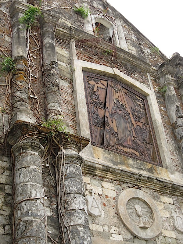 facade of St. Michael the Archangel Catholic Church in Bacnotan