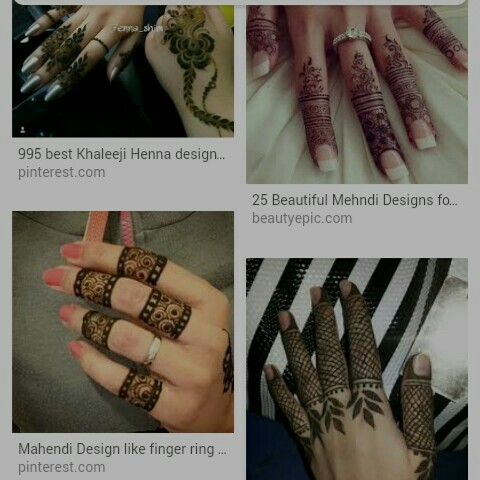 Stylish Finger Mehndi Designs Apps On Google Play