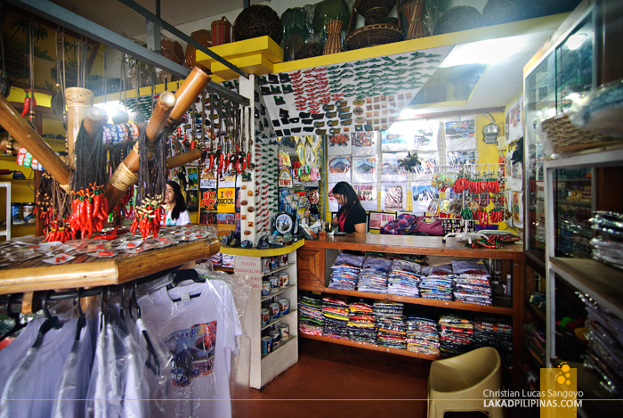Souvenir Store at Legazpi's Ibalong Pasalubong Center