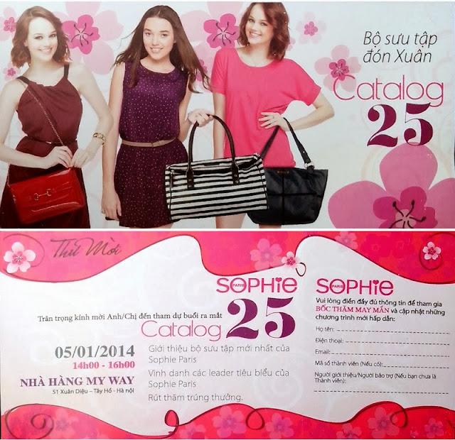 Sophie Paris ra mắt Catalog 25 tại Hà Nội