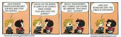 Clube da Mafalda:  Tirinha 738