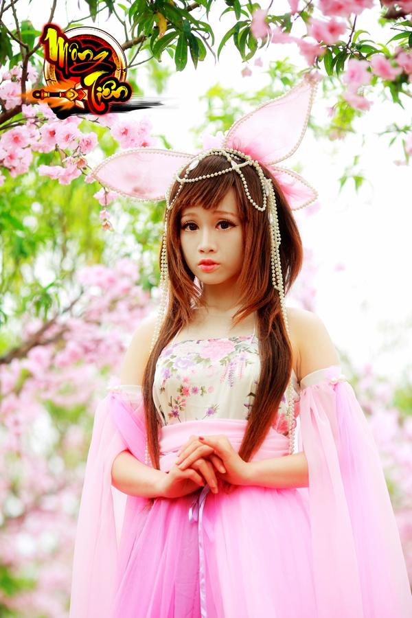 Chibi Bunny tung cosplay Mộng Tiên tuyệt đẹp 2