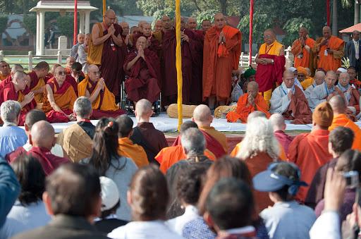 Para Tokoh Buddhis dalam Kongregasi Buddhis Global 2011