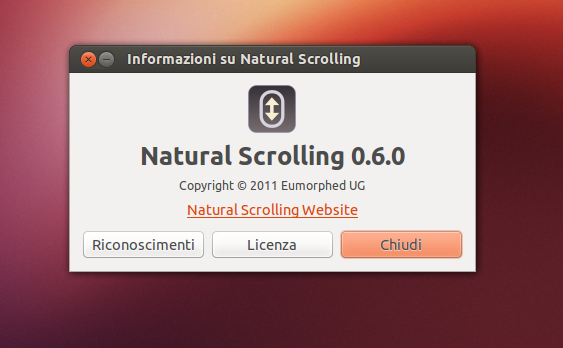 Natural Scrolling 0.6.0 info