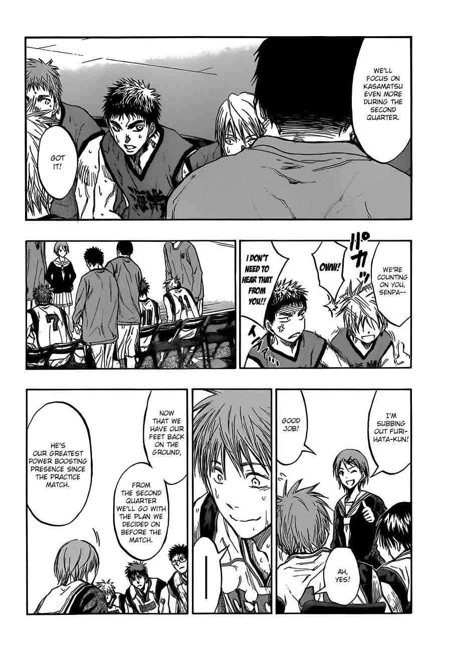 Kuroko no Basket Manga Chapter 188 - Image 06