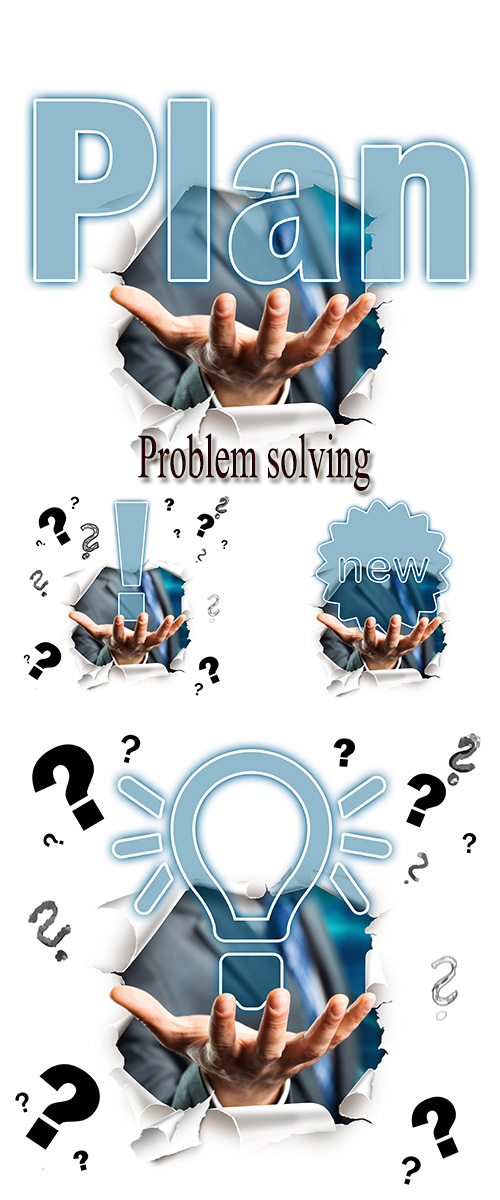 Stock Photo: Problem solving