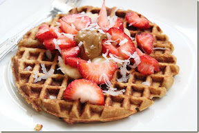 Coconut (Chickpea) Waffles