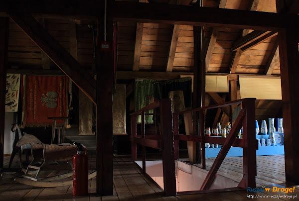 Muzeum Kaszubskie w Kartuzach - na strychu