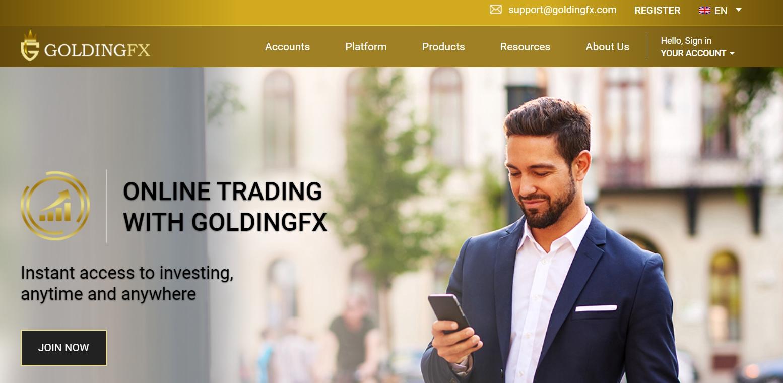 Отзывы о GoldingFX и обзор условий трейдинга реальные отзывы