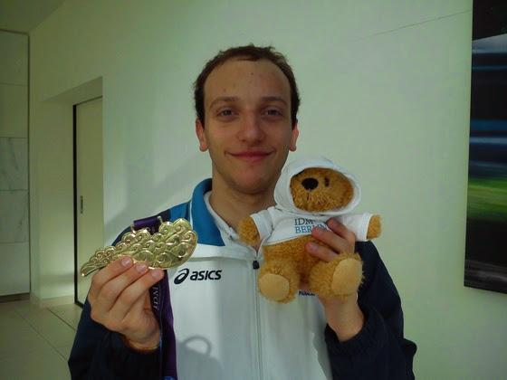 NUOTO - Berlino, Medaglia d'oro Morlacchi - Record mondiale per Stefania Chiarioni