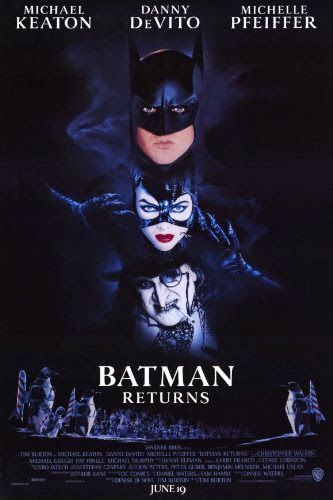 Poster Of Batman Returns (1992) Full Movie Hindi Dubbed Free Download Watch Online At Alldownloads4u.Com