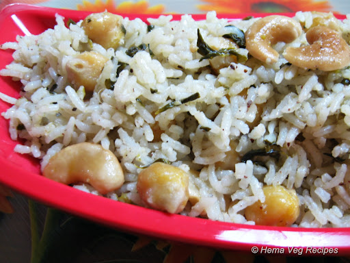Methi Channa Pulao / Pulav