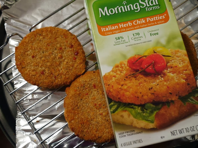 Morning Star Italian Herb Chik Patties