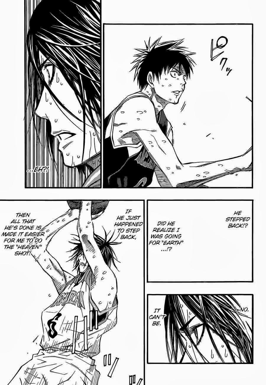 Kuroko no Basket Manga Chapter 255 - Image 17