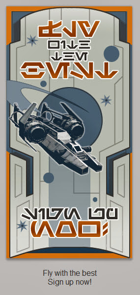 Starfighter Republic propaganda poster