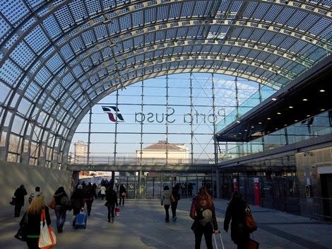 Torino nuova stazione porta susa foto - Torino porta susa porta nuova ...