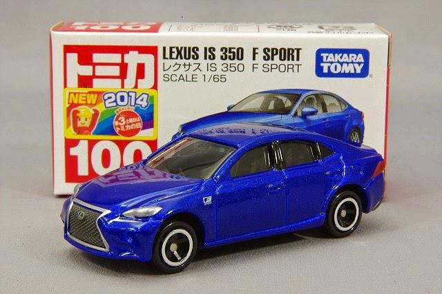 Tomica 100 Lexus IS 350 F Sport là sản phẩm mới năm 2014 của Takara Tomy