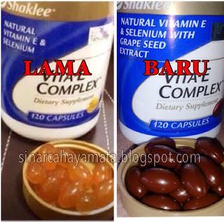 vitamin e dengan selenium dan ekstrak biji anggur