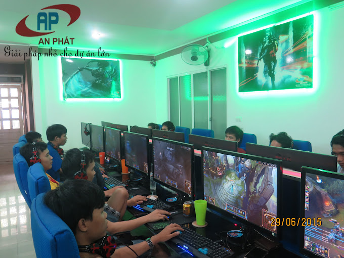 Lắp đặt 40 máy trạm Vip màn hình LCD 27'' icnh full HD tại Đại Học Nông Lâm