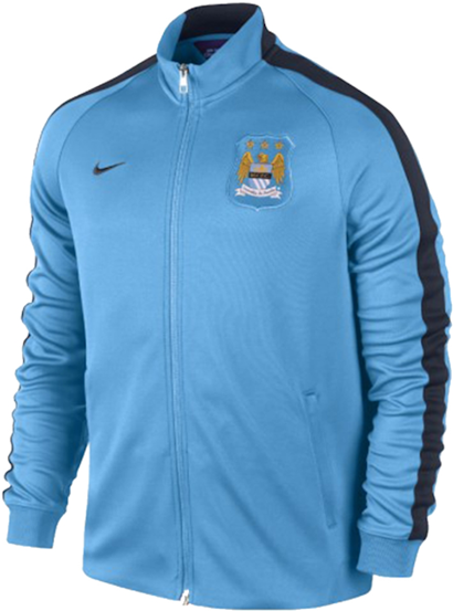 Jual Jaket Training Manchester City Home 2014-2015
