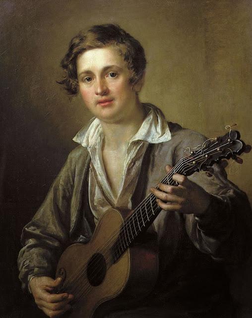 Vasily Tropinin - Guitarist