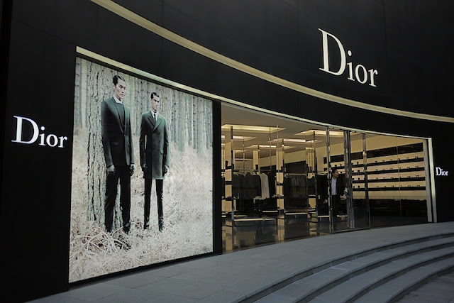 Dior store at the MixC in Shenzhen, China