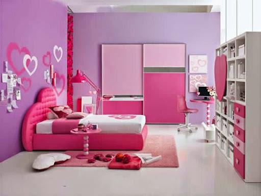 Những mẫu giường ngủ độc đáo cho cô nàng yêu màu hồng-4